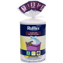 RuffiesTall Kitchen Trash Bags