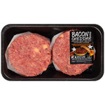 Bacon & Cheddar Ground Beef Patties