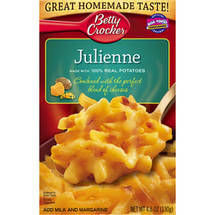 Betty Crocker Cheesy Potatoes Julienne