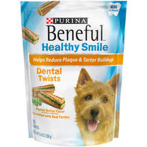Beneful Dog Snacks Mini Dental Healthy Smile Twists
