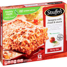 Stouffer's Party Size Lasagna with Meat & Sauce