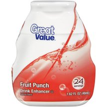 Great Value Fruit Punch Drink Enhancer