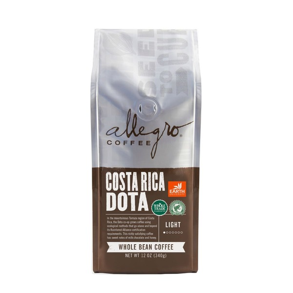 Allegro Costa Rican DOTA Ground Coffee