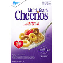 Multi Grain Cheerios Lightly Sweetened Cereal