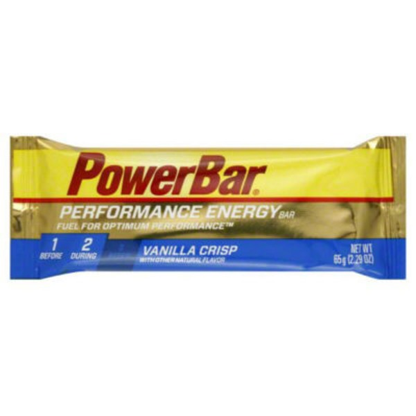 PowerBar Vanilla Crisp Energy Bar
