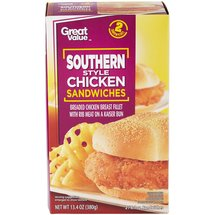 Great Value Southern Style Chicken Sandwiches