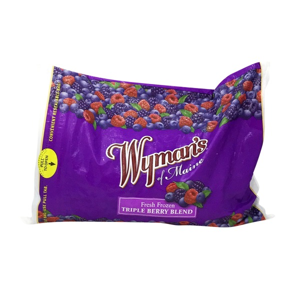 Wyman's Of Maine Triple Berry Blend