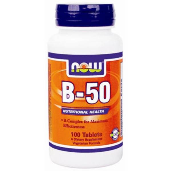 Now B 50 Tablets