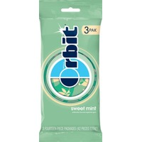 Orbit Sugarfree Gum Sweet Mint - 3 CT