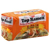 Top Ramen Chicken Flavor Ramen Noodle Soup