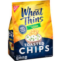 Nabisco Wheat Thins Toasted Chips Veggie