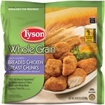 Tyson Whole Grain Breaded Chicken Breast Chunks