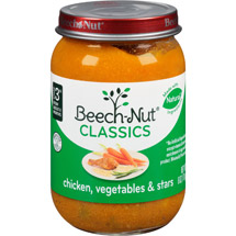 Beech Nut Tender Chicken & Stars Stage 3 Baby Food