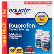 Equate Ibuprofen Caplets