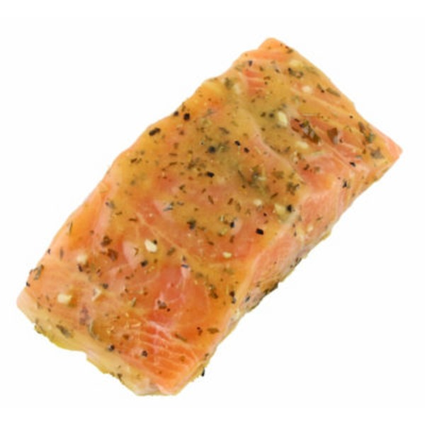 Lemon Rosemary Marinated Salmon Fillet