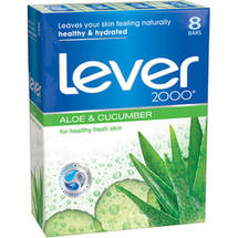 Lever 2000 Fresh Aloe Deodorant Soap