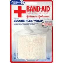 Band-Aid Secure-Flex Wrap Medium