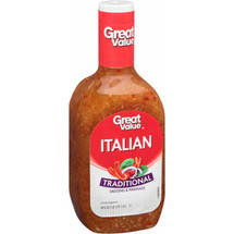 Great Value Italian Traditional Dressing & Marinade
