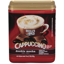 Hills Bros Double Mocha Cappuccino Beverage Mix