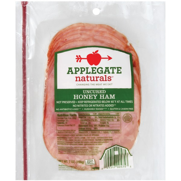 Applegate Natural Honey Ham
