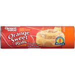 Great Value Orange Sweet Rolls with Icing
