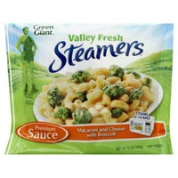 Green Giant Steamers Lightly Sauced Macaroni & Cheese Sauce with Broccoli Pasta