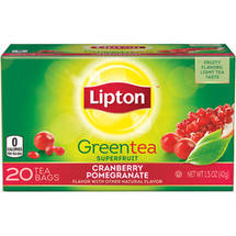 Lipton Cranberry Pomegranate Green Tea Bags