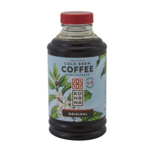 Kohana Organic Cold Brew Coffee Concentrate French vanilla
