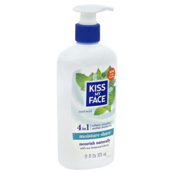 Kiss My Face 4 in 1 Moisture Shave Cool Mint