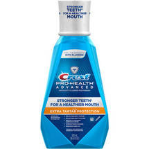 Crest Pro-Health Advanced with Extra Tartar Protection Refreshing Mint Flavor Mouthwash