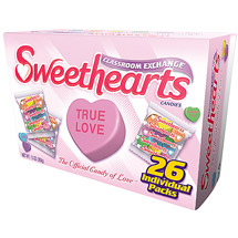 Sweethearts Classroom Exchange Conversational Valentine Candies