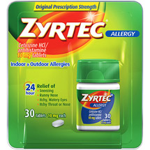 Zyrtec Allergy 24 Hour