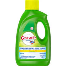 Cascade With Shine Shield Dishwasher Detergent Lemon