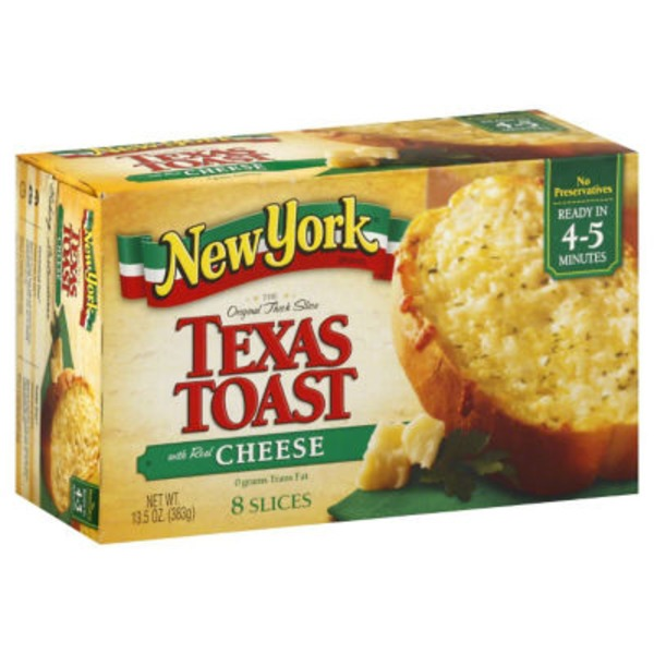 New York Style The Original Thick Slice with Real Cheese Texas Toast