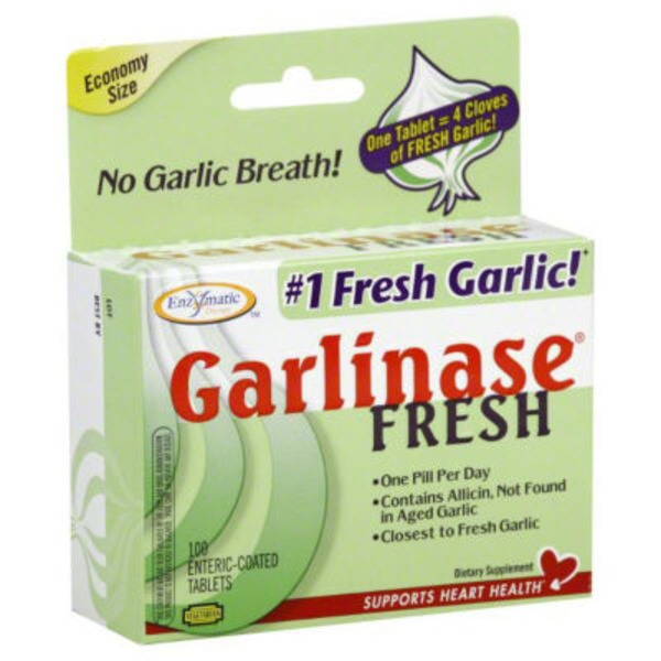 Enzymatic Therapy Garlinase Fresh Garlic Supplement