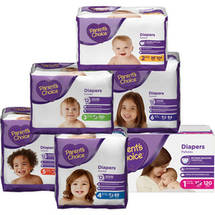 Parent's Choice Diapers Size 2