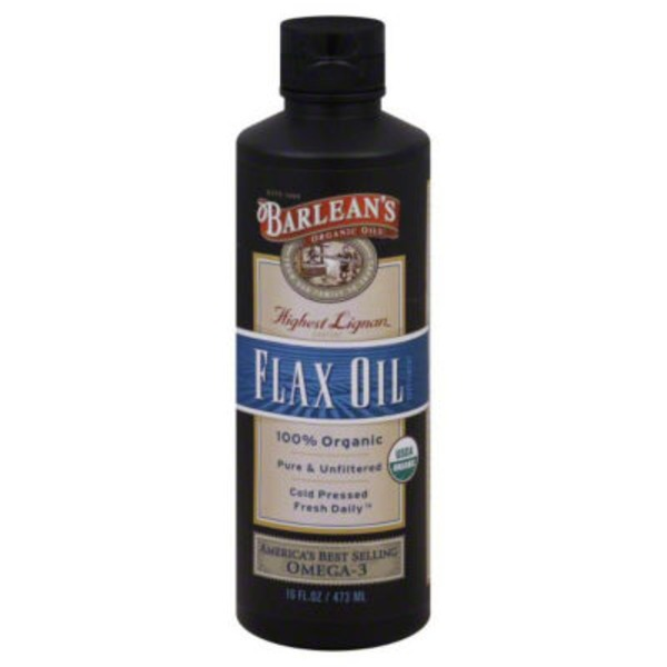 Barlean's Cold Pressed Flax Oil