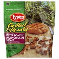 Tyson Frozen Grilled And Ready Oven Roasted Diced Chicken Breast