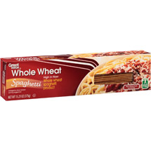 Great Value Whole Wheat Regular Spaghetti Pasta