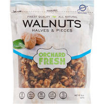 Hines Orchard Fresh Walnuts Halves & Pieces