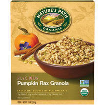 Nature's Path Flaxplus Organic Pumpkin Granola Cereal