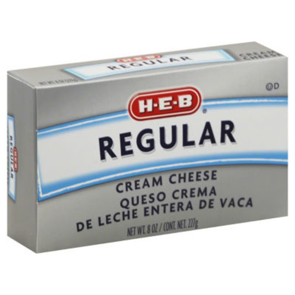 H-E-B Regular Cream Cheese