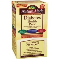Nature Made Diabetic Health Pack