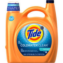 Tide Plus Coldwater Clean Fresh Scent Liquid Laundry Detergent