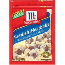 McCormick Swedish Meatballs Seasoning & Sauce Mix