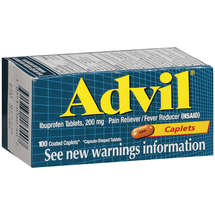 Advil 200 Mg Ibuprofen Coated Tablets