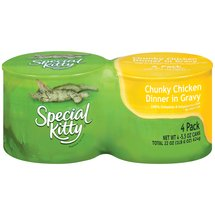 Special Kitty Chunky Chicken Dinner In Gravy Cat Food
