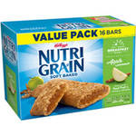 Kellogg's Nutri-Grain Soft Baked Apple Cinnamon  Bar 1.3oz 16 count