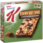 Kellogg(')s Special K Chocolate Almond Chewy Nut Bars