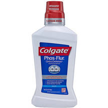 Colgate Phosflur Anti-Cavity Colgate Phosflur Anti-Cavity Cool Mint Dental Rinse